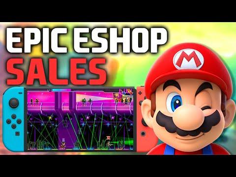 SECRET eShop Sales NOW! Nintendo Switch Games For CHEAP! (Switch eShop Deals and Sales!)
