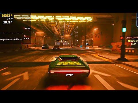 CYBERPUNK 2077 - GeForce 2070 Super MAX SETTINGS Test (1080p / 4K / RTX ON / OFF) Free Roam Gameplay