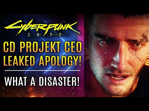 Cyberpunk 2077 - CD Projekt Red CEO's Leaked Apology!  Updates Bonus Structure For Dev Team!