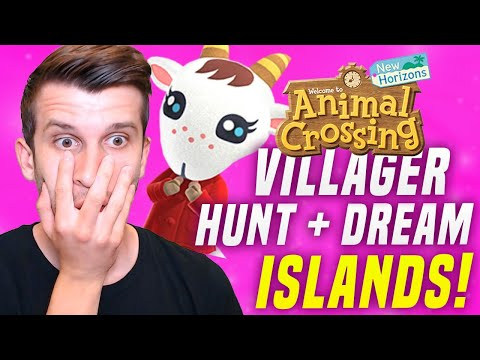 🔴VISITING YOUR Dream Address in Animal Crossing New Horizons Dream Island Tours! (ACNH Update)