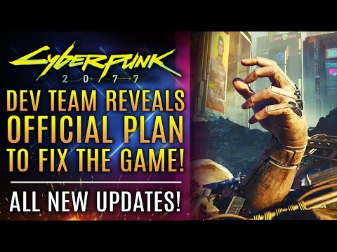 Cyberpunk 2077 - Dev Team REVEALS Plan To Fix The Game!  Plus Refunds for PS5 and PS4!