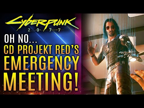 Cyberpunk 2077 - CD Projekt Red Holds Emergency Meeting!  State of PS5, Xbox One X PC Base Platforms