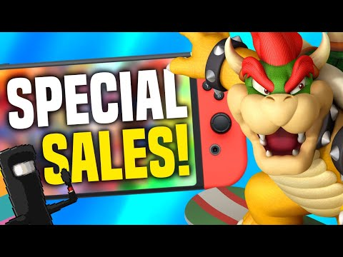 SPECIAL Nintendo Switch eShop Sale + NEW CHRISTMAS RELEASES ANNOUNCED!