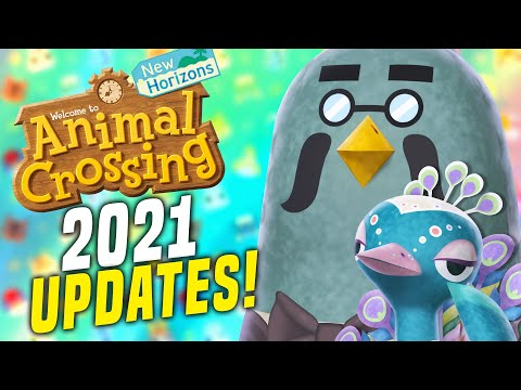 NEW ANIMAL CROSSING 2021 UPDATE EXPLAINED! (Switch Update / New Horizons Update)