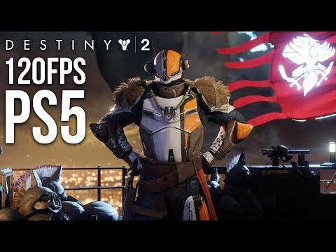 DESTINY 2 - PS5 120fps Multiplayer Gameplay