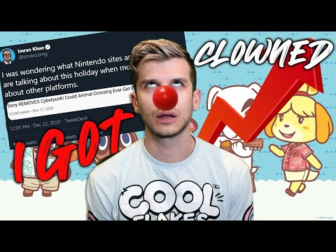 I Got Clowned For Animal Crossing, The BIGGEST Game of 2020! (Nintendo Switch News)