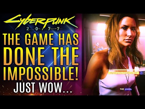 Cyberpunk 2077 Has Done The Impossible Today!  Just Wow...All New Updates!