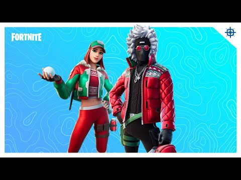New HOLLY TRICKER and KARVE Skins! (Fortnite Season 5)
