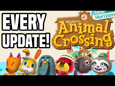 ALL Animal Crossing New Horizons Updates!! (ALL New Features, New NPCs, New Shops, New Updates 2020)