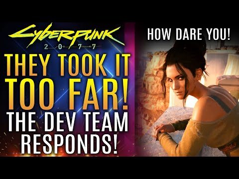 Cyberpunk 2077 - They Took It WAY TOO FAR!  Dev Team Responds To Horrible Attack on Their Game!