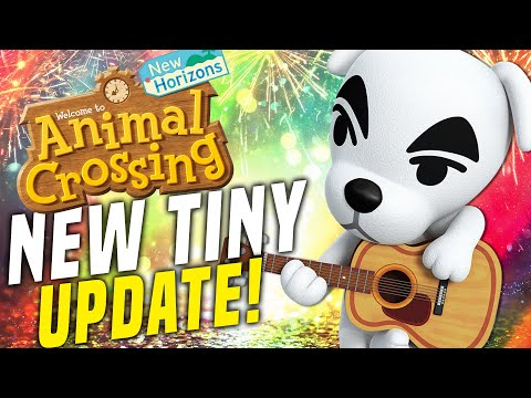 TINIEST ACNH UPDATE?! New Animal Crossing Switch Update Items (New Horizons Tips and Tricks)