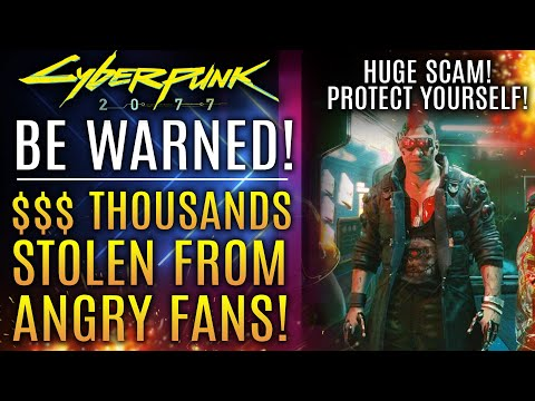 Cyberpunk 2077 - Real Cyber Criminals Steal THOUSANDS of Dollars From Fans In Online Heist!