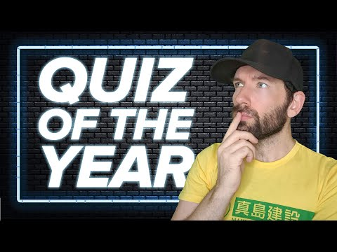 What the Hell Just Happened: So You Think You Know 2020? - Quiz of the Year!