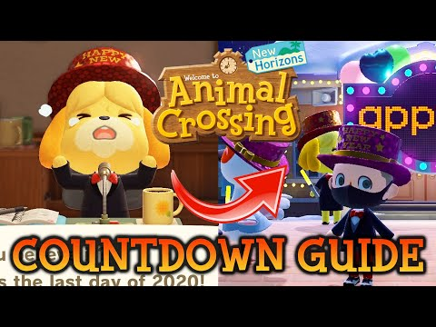 🎊 ACNH NEW YEARS COUNTDOWN GUIDE! 5 Things You NEED To Do Animal Crossing New Horizons Switch Update