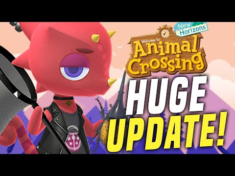 Animal Crossing January Update - ALL New Features, Events, Villagers, Creatures! (ACNH Update Tips)
