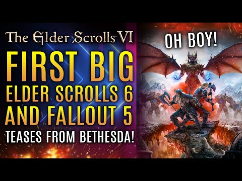 First Big Elder Scrolls 6 Tease From Bethesda in 2021! Fallout 5 Rumors and Starfield News Update!