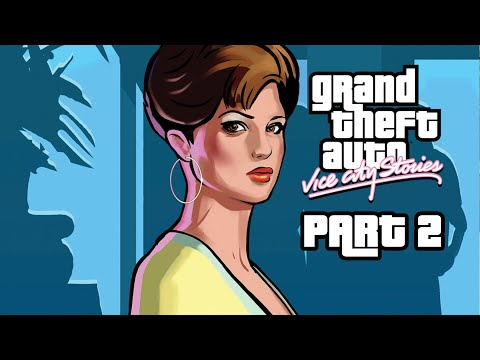 GRAND THEFT AUTO VICE CITY STORIES Gameplay Walkthrough Part 2 - I HATE MARTY