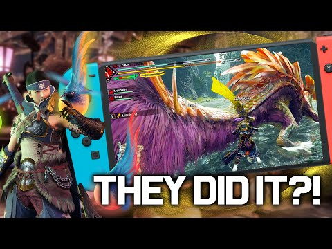 Is Monster Hunter Rise GOOD ENOUGH on Nintendo Switch?! (Framerate Analysis + Impressions)