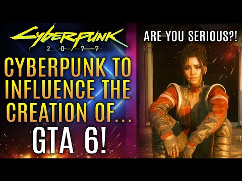 Cyberpunk 2077 To Influence The Creation of GTA 6?!  New Legendary Armor and More!  New Updates!