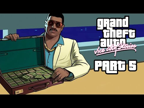 GRAND THEFT AUTO VICE CITY STORIES Gameplay Walkthrough Part 5 - MISSION WITH LANCE
