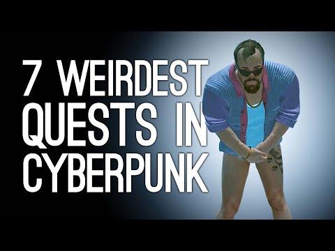 Cyberpunk 2077: The 7 Weirdest Quests We've Found in Night City