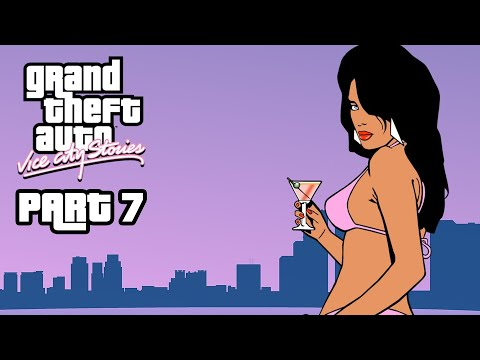 GRAND THEFT AUTO VICE CITY STORIES Gameplay Walkthrough Part 7 - UNLOCKING THE NEXT ISLAND