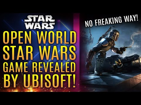 Ubisoft OFFICIALLY Announces Open World Star Wars Game For PS5, Xbox Series X and PC!