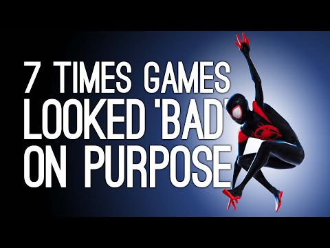7 Times Games Looked Bad On Purpose