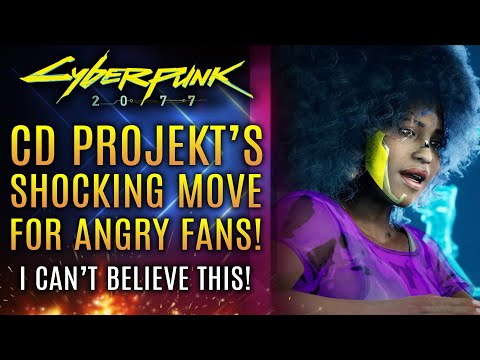 Cyberpunk 2077 - CD Projekt's SHOCKING Move For Angry Fans!  Plus Crazy New Customization Options!