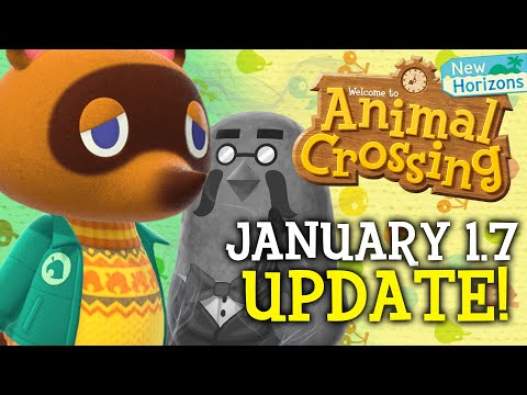 DID THEY🤩😰?! Animal Crossing Update Trailer + New Horizons January Update! Nintendo Switch Festivale