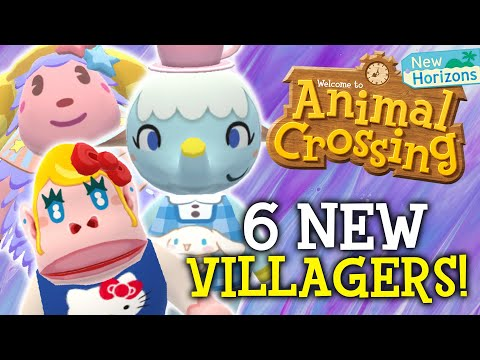 SANRIO VILLAGERS Animal Crossing Update! amiibo Cards + Hello Kitty Coming! (New Horizons Switch)