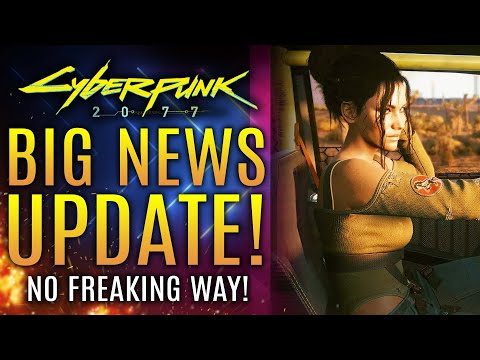 Cyberpunk 2077 - Big News Update!  No Freaking Way!  Modders Take It Too Far! GameStop Stock Info!