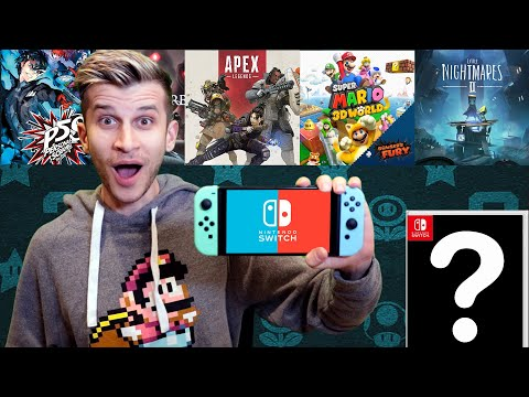 $400 ULTIMATE Upcoming NINTENDO SWITCH Games List February 2021!