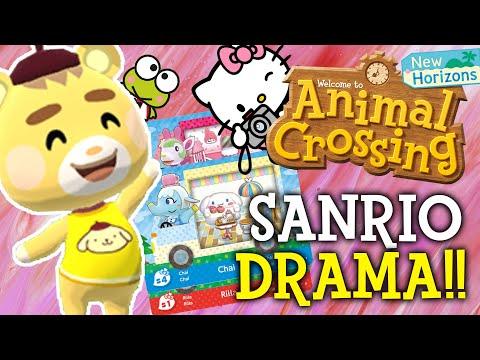 Sanrio Animal Crossing Update DRAMA!! Sanrio Amiibo Cards EXPLAINED!! (New Horizons Switch)