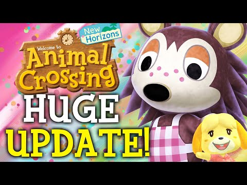 Animal Crossing February Update - ALL New Features, Events, Villagers, Fish, Bugs in New Horizons!