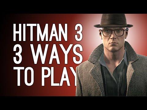 Hitman 3 Dartmoor! 3 Ways to Play! MURDER MYSTERY! PHOTOGRAPHER KILL! CHANDELIER ACCIDENT?