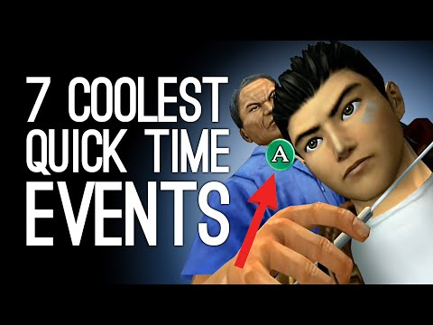 7 Coolest QTEs that Justified the Existence of Quick Time Events
