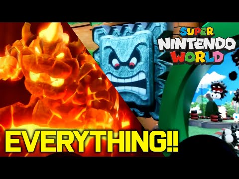 EVERYTHING Super Nintendo World! NEW Mario Kart Ride, Stores, Food, Merch! COMPLETE TOUR!