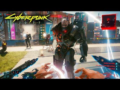 Adam Smasher Clone Army ATTACKS MY PENTHOUSE in Cyberpunk 2077!