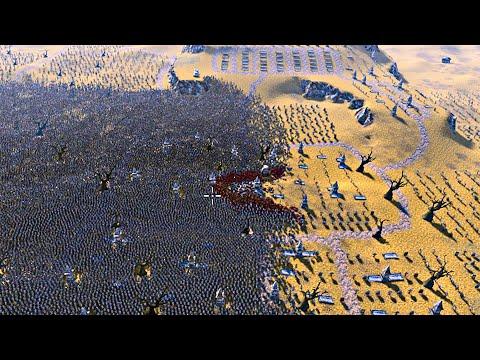 300 Spartans vs 100,000 Persians | Ultimate Epic Battle Simulator