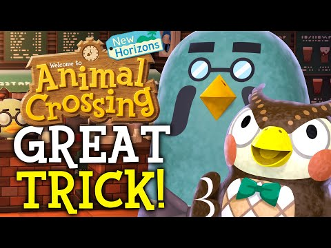 HOW To Get Fake BREWSTER In Animal Crossing New Horizons! (Animal Crossing Tips)