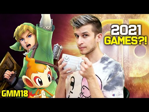 Switch Games 2021: Nintendo Direct, Plans, and Pro?! (Nintendo Switch News - GMM18)