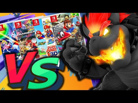 Is Super Mario 3D World + Bowser's Fury BETTER Than EVERY Mario Switch Games?!