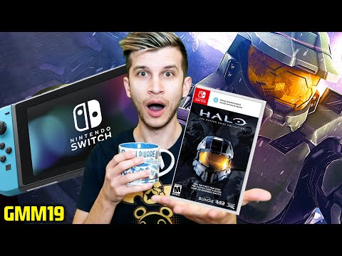 Nintendo Switch Getting HALO MASTER CHIEF Collection?! (Switch News - GMM19)