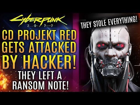 Cyberpunk 2077 - Hacker Steals Everything From CDPR, Leaves Ransom Note With Demands!