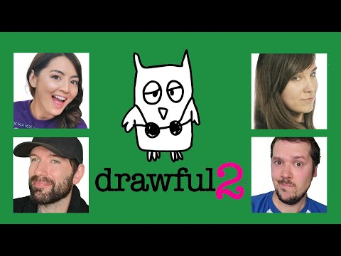 Drawful 2: DRAWING CONTEST! Ellen vs Mike vs Jane vs Andy (Challenge of the Week)