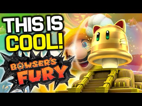 ALL 15!! Types of CAT SHINES Hidden In Bowser's Fury (Super Mario 3D World + Bowser's Fury Switch)