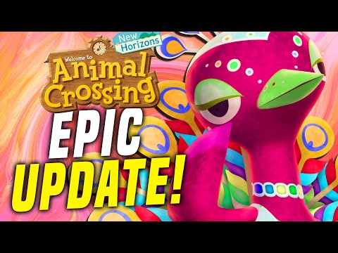 LEAKED UPDATE! New Animal Crossing Switch Update 1.7.0 a! (New Horizons Festivale Update)