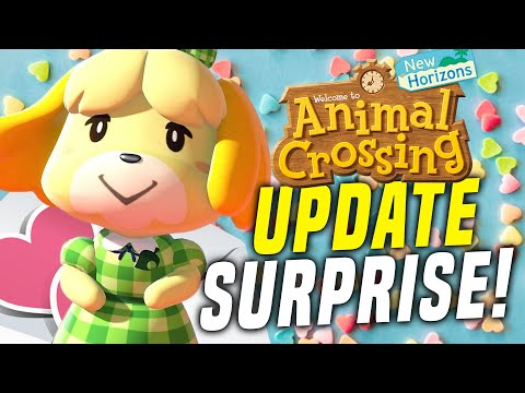 VALENTINES DAY ADDED?! New Animal Crossing Switch Update 1.7.0! (New Horizons Tips)
