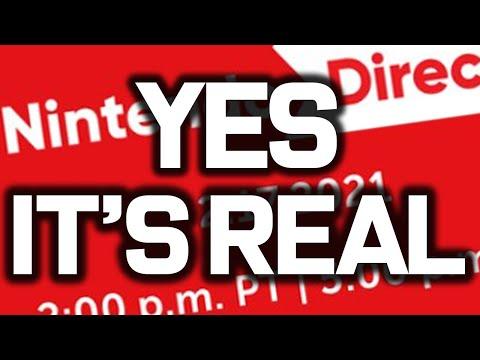 Nintendo Direct 2021! Zelda 35th Anniversary?! New Switch Games + Switch Updates!